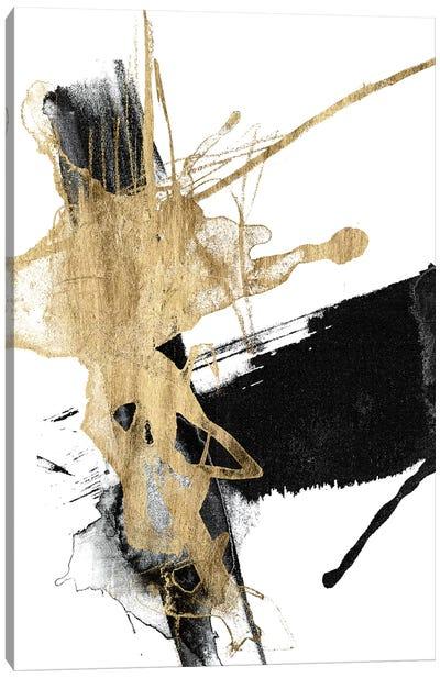 Glam & Black VI Canvas Art Print