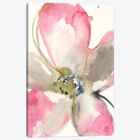 Magenta Petals I Canvas Print #JGO871} by Jennifer Goldberger Canvas Art