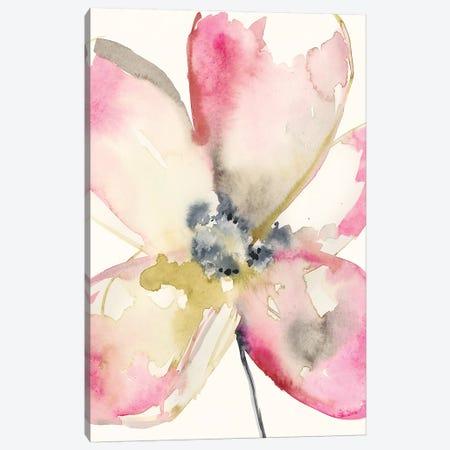 Magenta Petals II Canvas Print #JGO872} by Jennifer Goldberger Canvas Art