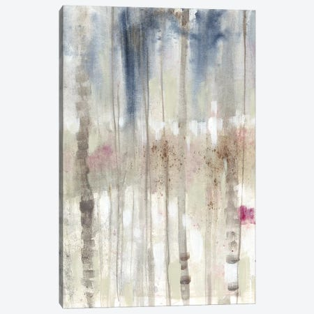 Subtle Birchline I Canvas Print #JGO888} by Jennifer Goldberger Canvas Art Print