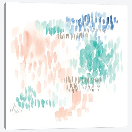 Sugar Dashes I Canvas Print #JGO890} by Jennifer Goldberger Canvas Art