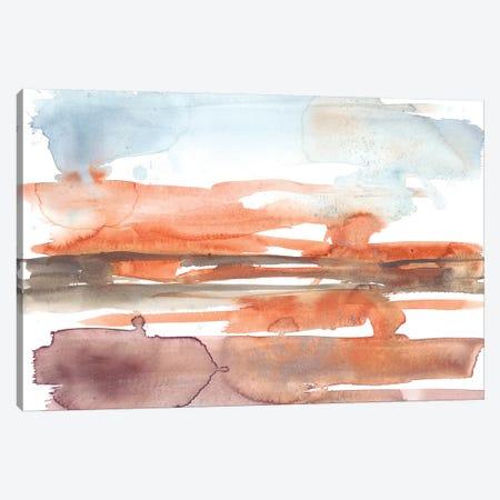 Sunset Horizon I 3-Piece Canvas #JGO892} by Jennifer Goldberger Canvas Artwork