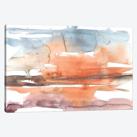 Sunset Horizon II Canvas Print #JGO893} by Jennifer Goldberger Canvas Wall Art