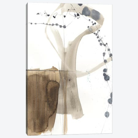 Umber Connection I Canvas Print #JGO898} by Jennifer Goldberger Canvas Art