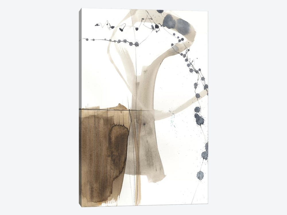 Umber Connection I by Jennifer Goldberger 1-piece Canvas Wall Art