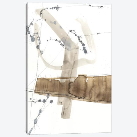 Umber Connection II Canvas Print #JGO899} by Jennifer Goldberger Canvas Artwork