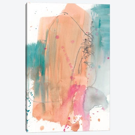 Vivid Splash I Canvas Print #JGO900} by Jennifer Goldberger Canvas Art