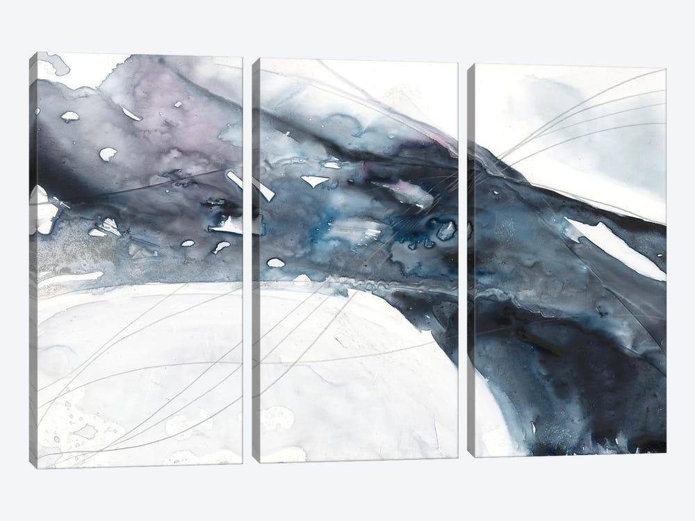Agate Wave II by Jennifer Goldberger 3-piece Canvas Print