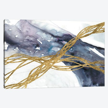 Agate Wave III 3-Piece Canvas #JGO906} by Jennifer Goldberger Art Print