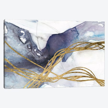 Agate Wave IV Canvas Print #JGO907} by Jennifer Goldberger Canvas Art Print