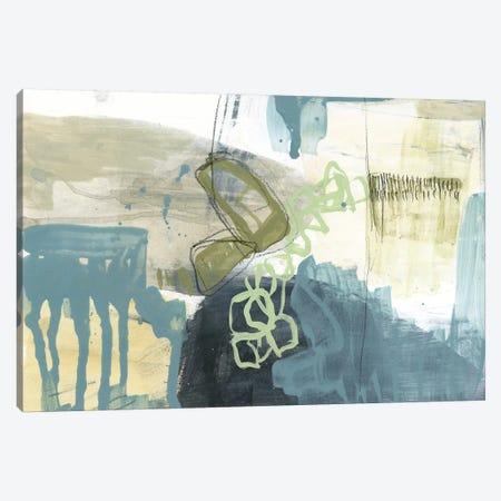 Blue Exploration I Canvas Print #JGO908} by Jennifer Goldberger Canvas Art
