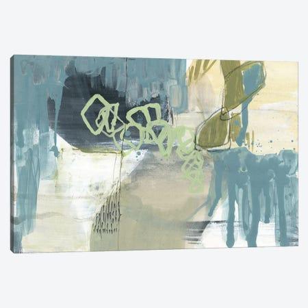 Blue Exploration II Canvas Print #JGO909} by Jennifer Goldberger Canvas Artwork
