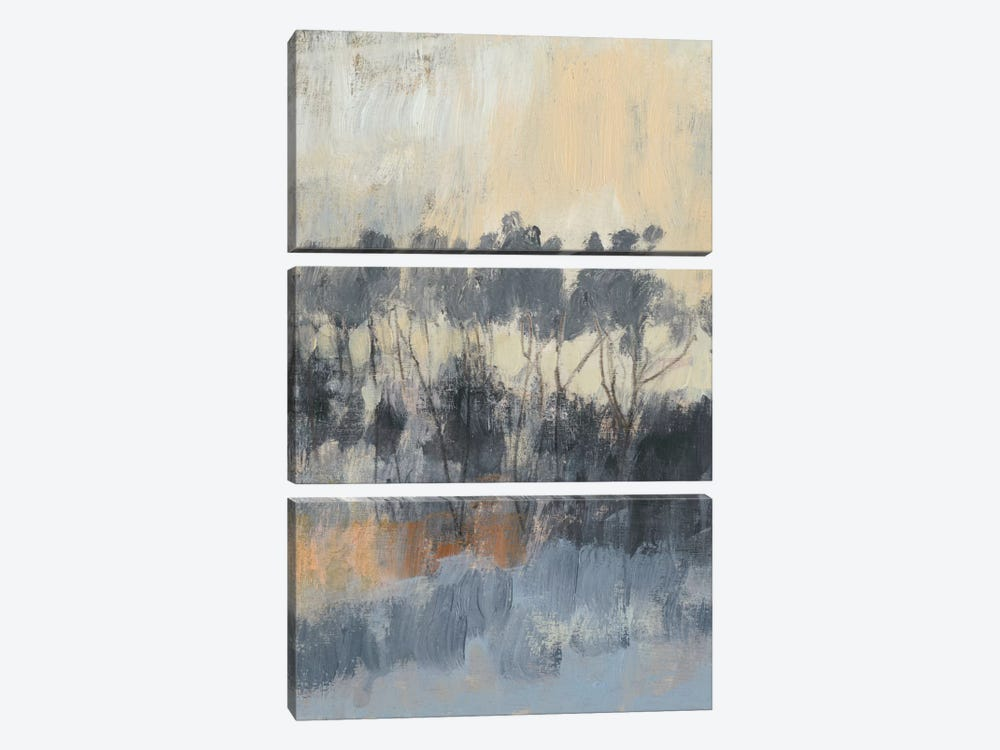 Paynes Treeline I by Jennifer Goldberger 3-piece Canvas Wall Art