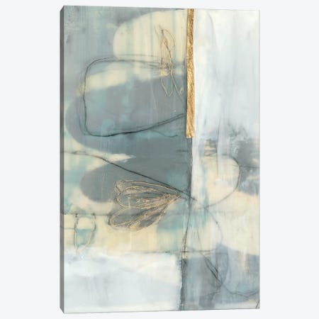 Gilded Whimsy I Canvas Print #JGO914} by Jennifer Goldberger Canvas Wall Art