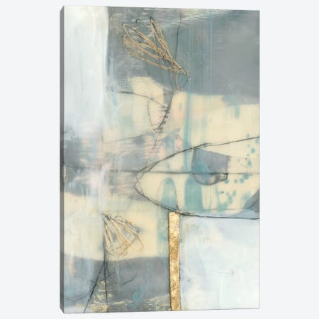Gilded Whimsy II Canvas Print #JGO915} by Jennifer Goldberger Canvas Wall Art
