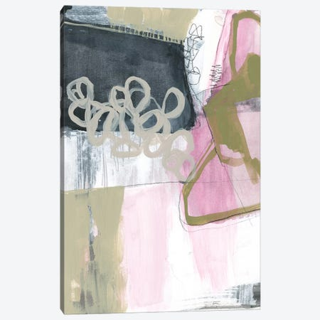 Olive Marks I Canvas Print #JGO916} by Jennifer Goldberger Canvas Artwork