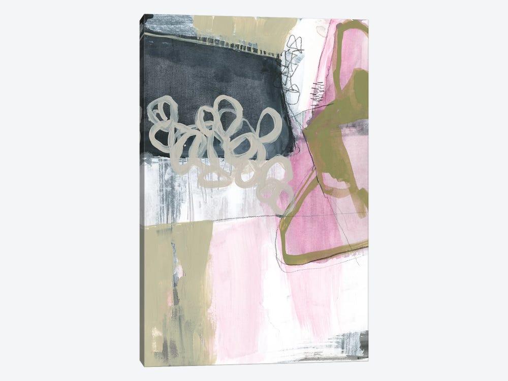 Olive Marks I by Jennifer Goldberger 1-piece Canvas Art Print