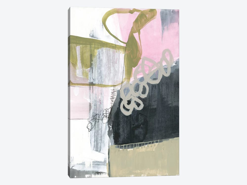Olive Marks II by Jennifer Goldberger 1-piece Canvas Wall Art