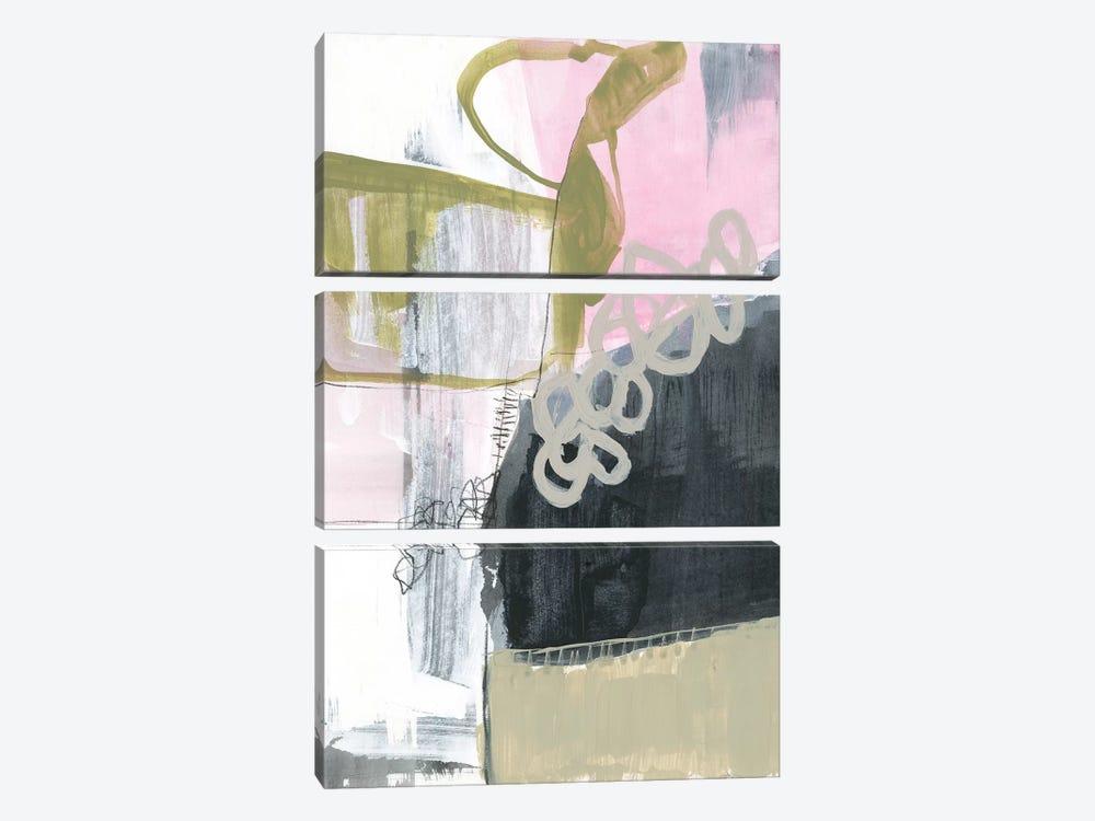 Olive Marks II by Jennifer Goldberger 3-piece Canvas Art