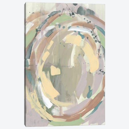 Pastel Around I 3-Piece Canvas #JGO920} by Jennifer Goldberger Canvas Artwork