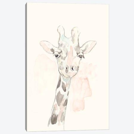 Pastel Safari IV Canvas Print #JGO924} by Jennifer Goldberger Art Print