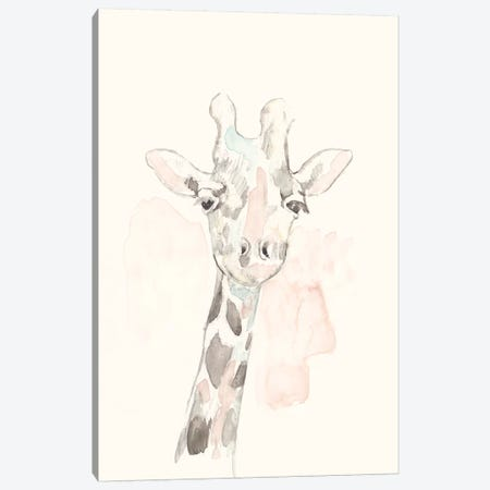 Pastel Safari IV Canvas Print #JGO924} by Jennifer Goldberger Art Print
