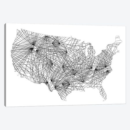 United Matrix Canvas Print #JGO929} by Jennifer Goldberger Canvas Artwork