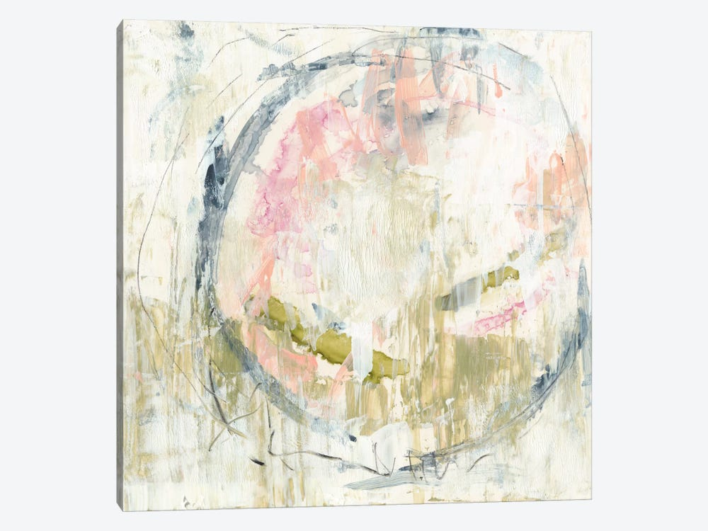 Pinky Moss I by Jennifer Goldberger 1-piece Canvas Artwork