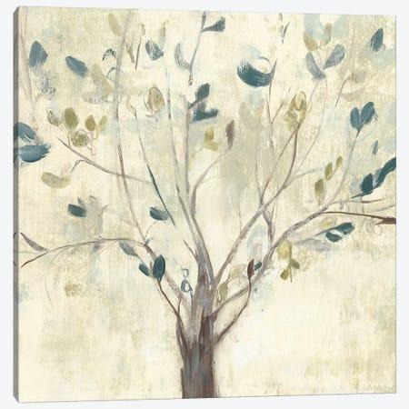 Trees of Blue I 3-Piece Canvas #JGO932} by Jennifer Goldberger Canvas Art Print