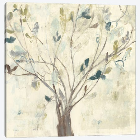 Trees of Blue II 3-Piece Canvas #JGO933} by Jennifer Goldberger Canvas Print