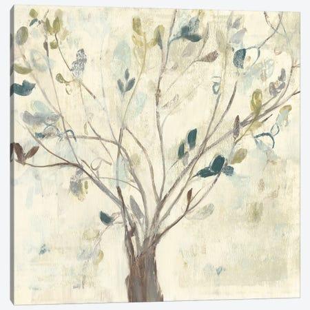 Trees of Blue II Canvas Print #JGO933} by Jennifer Goldberger Canvas Print