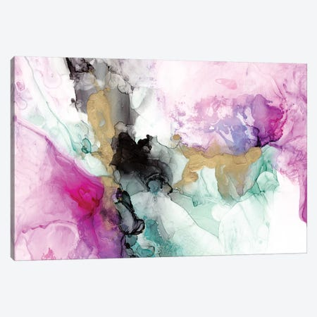 Magenta Expression II 3-Piece Canvas #JGO951} by Jennifer Goldberger Art Print