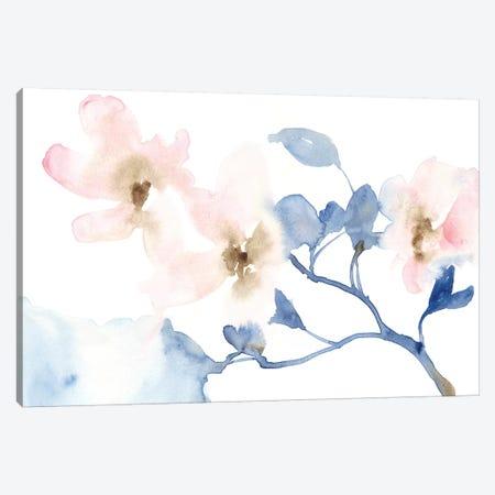Cherry Blossom Light I 3-Piece Canvas #JGO952} by Jennifer Goldberger Canvas Print