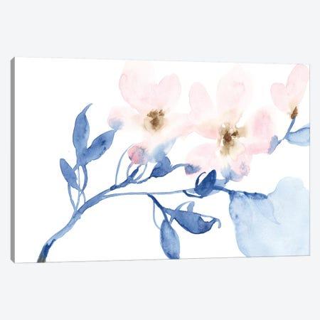 Cherry Blossom Light II 3-Piece Canvas #JGO953} by Jennifer Goldberger Canvas Art Print