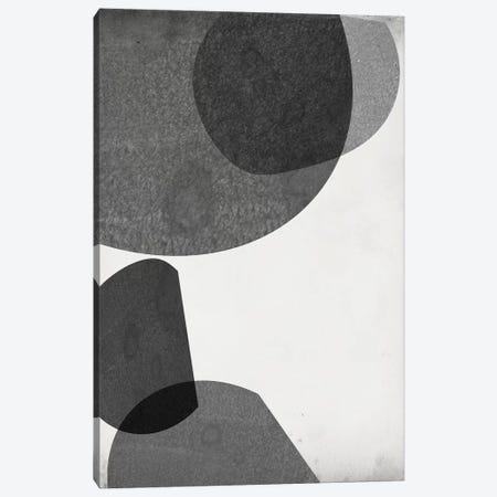 Grey Shapes I Canvas Print #JGO962} by Jennifer Goldberger Canvas Wall Art