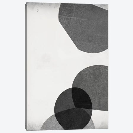 Grey Shapes III Canvas Print #JGO964} by Jennifer Goldberger Canvas Print