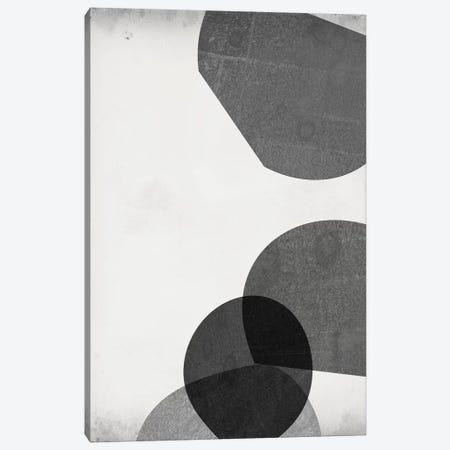 Grey Shapes III 3-Piece Canvas #JGO964} by Jennifer Goldberger Canvas Print