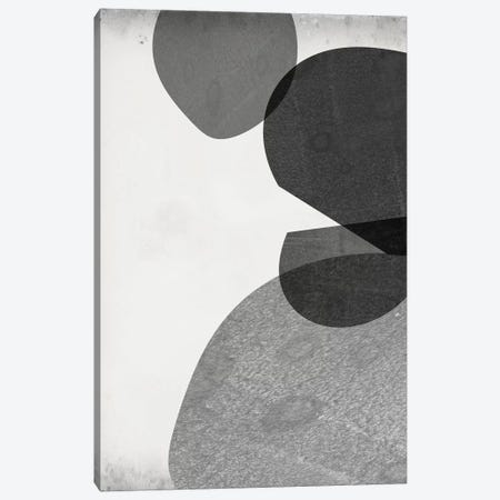 Grey Shapes IV Canvas Print #JGO965} by Jennifer Goldberger Art Print