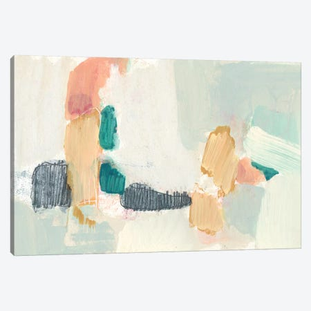 Confetti Shapes I Canvas Print #JGO966} by Jennifer Goldberger Art Print