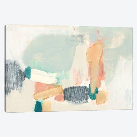 Confetti Shapes II 3-Piece Canvas #JGO967} by Jennifer Goldberger Canvas Art Print