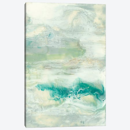 Serene Seafoam I Canvas Print #JGO96} by Jennifer Goldberger Canvas Art