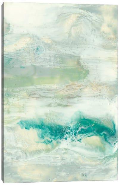 Serene Seafoam I Canvas Print #JGO96