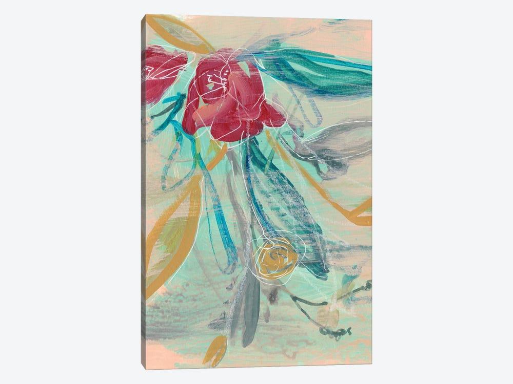 Tropical Bouquet I by Jennifer Goldberger 1-piece Art Print