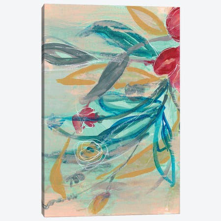 Tropical Bouquet II Canvas Print #JGO971} by Jennifer Goldberger Canvas Art Print