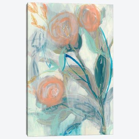 Flower Grouping I Canvas Print #JGO972} by Jennifer Goldberger Canvas Art Print