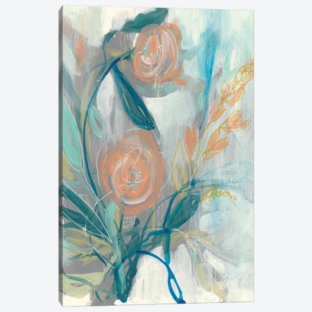 Flower Grouping II Canvas Print #JGO973} by Jennifer Goldberger Canvas Print