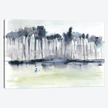 Treeline Splash I Canvas Print #JGO974} by Jennifer Goldberger Canvas Wall Art
