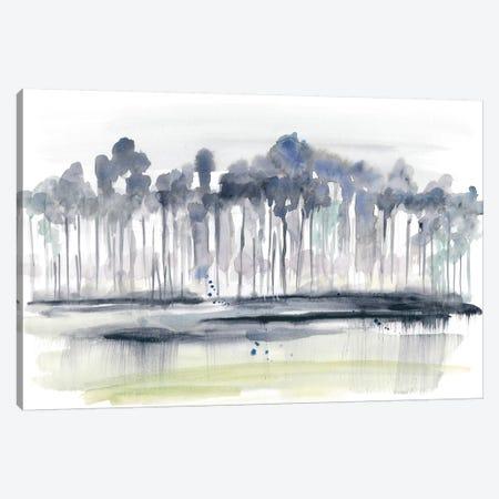 Treeline Splash II Canvas Print #JGO975} by Jennifer Goldberger Canvas Art