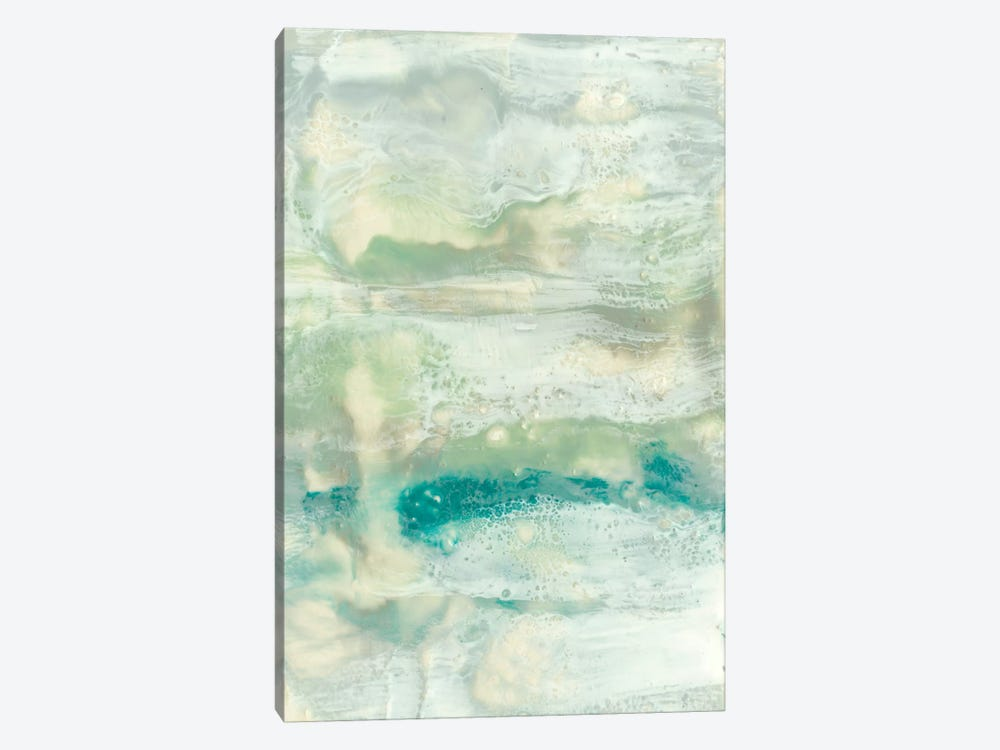 Serene Seafoam II by Jennifer Goldberger 1-piece Canvas Art Print