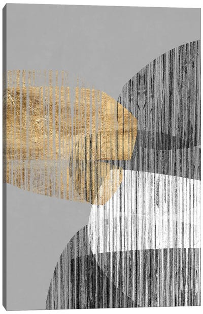 Adjacent Shapes I Canvas Art Print
